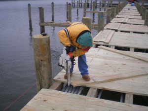 Pier Construction by Gibbons Marine Construction
